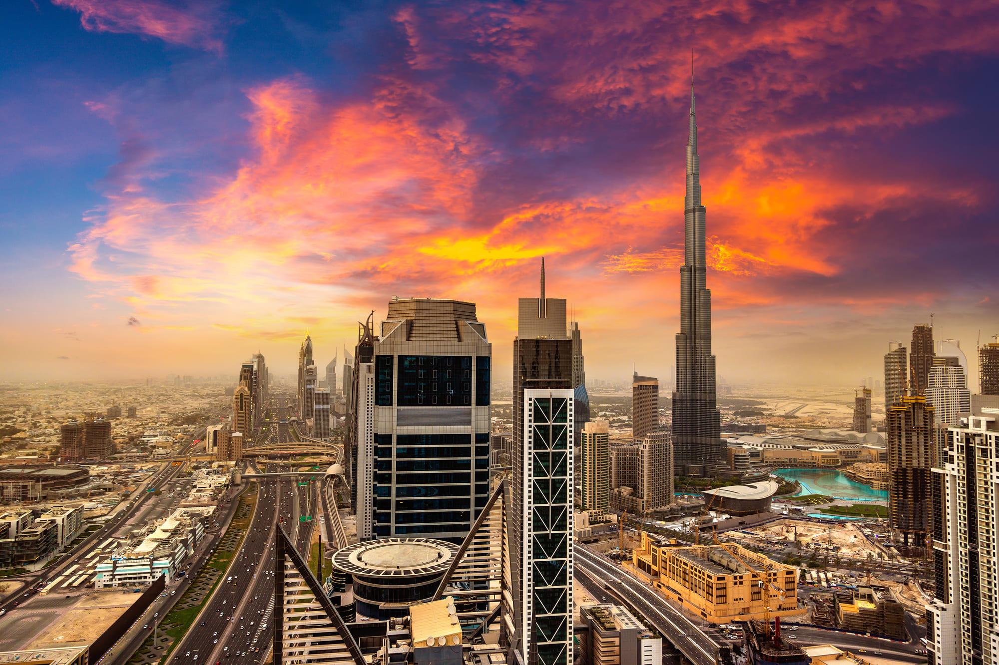 The Burj Khalifa Tower