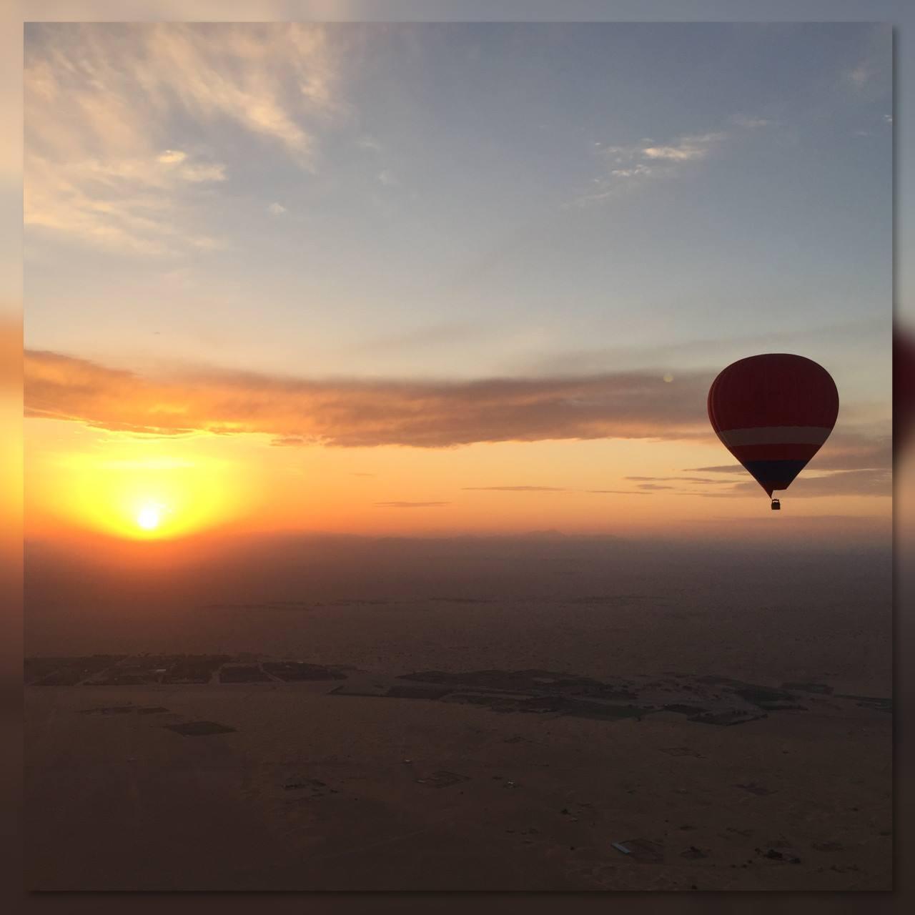 Dubai Hot – Air Balloon Flight