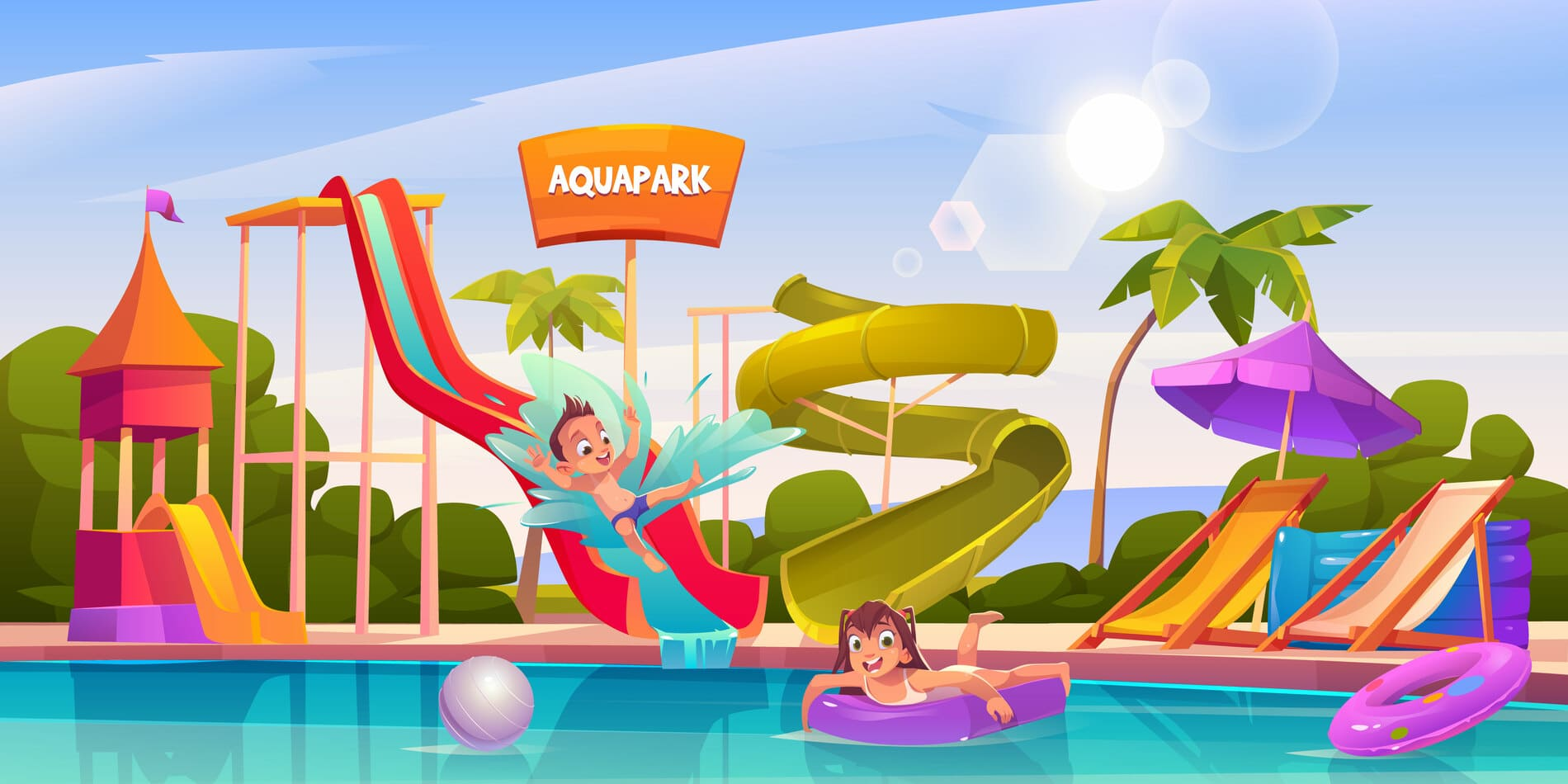 Aqua venture Waterpark