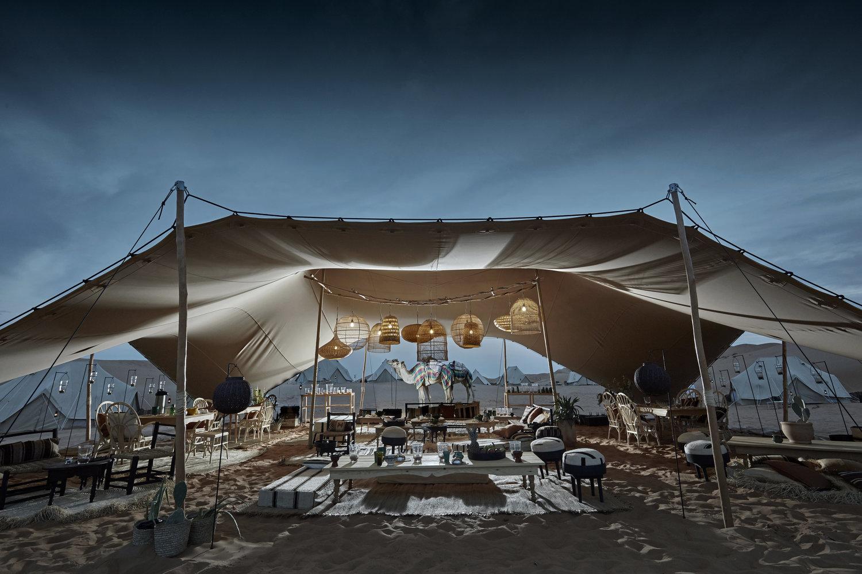 Camping in Dubai