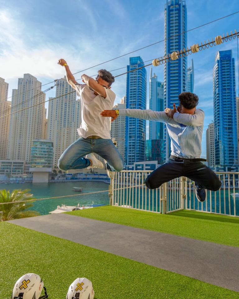 Zip Lining in Dubai