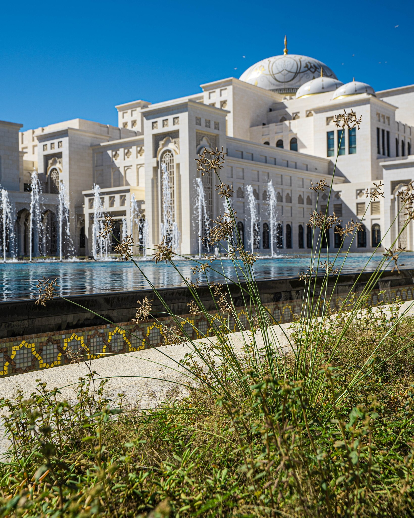 The Presidential Palace of the United Arab Emirates